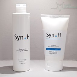 Synthetic hair shampoo